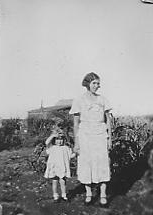 Isabel Irvine, a Women Pioneer of Saskatchewan and her eldest daughter