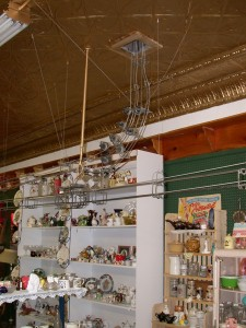 Cash Cable System Former Joyner's Department Store Moose Jaw, Sask.  Photo (c) Joan Miller