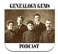 Genealogy Gems Podcast iPhone App