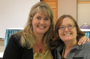 Lisa Louise Cooke & Joan Miller in Mesa Arizona 2010