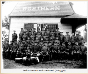 Rosthern Home Guard 1915 - names?
