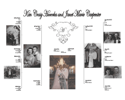 Custom Gift - Wedding Family Tree Chart