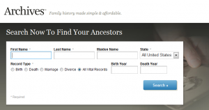 Archives - Genealogy Family TreeSearch