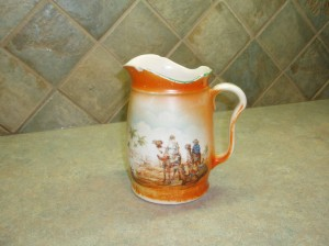 Milk jug - A little pitcher