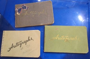 Autograph Books from the 1940s