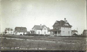 Nokomis Saskatchewan Second Avenue c. 1913. Image courtesy of Peel's Prairie Provinces, a digital initiative of the University of Alberta Libraries.