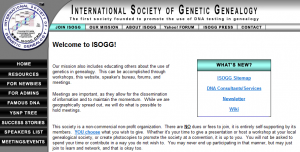 International Society of Genetic Genealogists