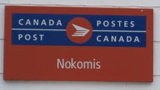 Nokomis, Saskatchewan Post Office. Photo Credit: Ellen McClughan
