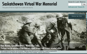 Saskatchewan Virtual War Memorial